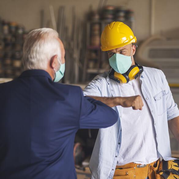 Handwerker-Pandemie-Hilfe