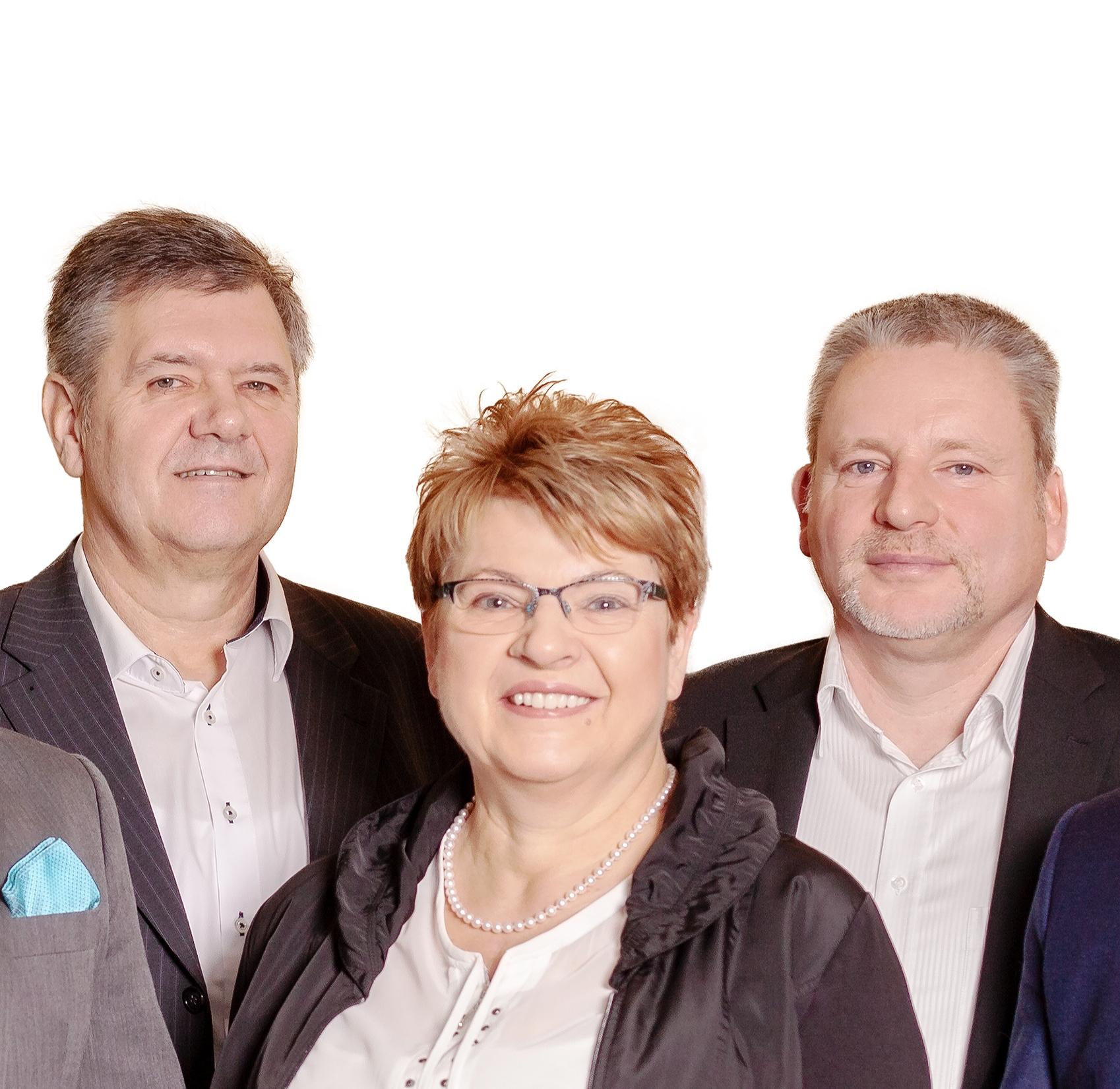 Gruppenbild Die Versicherungsmeister des Handwerks